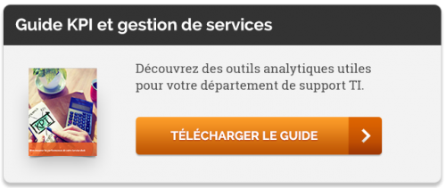 Guide ITSM analytiques